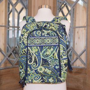 Vera Bradley Paisley Laptop Backpack